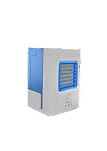 WZF Mini acondicionador de Aire portátil USB, enfriamiento Fresco para Enfriador de Aire del Dormitorio, Enfriador de Aire evaporativo casero