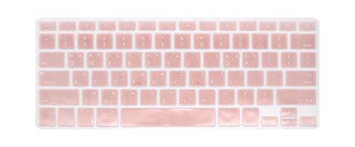 Koreaans toetsenbord voor Mac Book Air Pro13, 15 inch, A1466 A1278 A1502 Retina, toetsenbordhoes, voor laptop, film kleur voor toetsenbord Rose Gold.