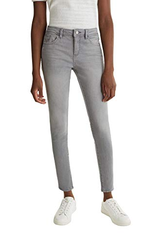 ESPRIT Damen 040EE1B334 Jeans, 923/GREY Light WASH, 30/28