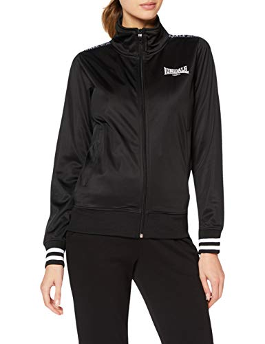 Lonsdale BECCLES Giacche, Black, Small Donna