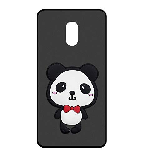 Sunrive Funda para Wiko Robby, Silicona Mate Funda Slim Fit Gel 3D Carcasa Case Bumper de Impactos y Anti-Arañazos Espalda Cover(W2 Panda 1) + 1 x Lápiz óptico