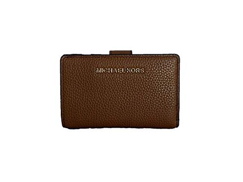 Michael Kors Jet Set Travel Medium Bifold Zip Coin Wallet - Luggage