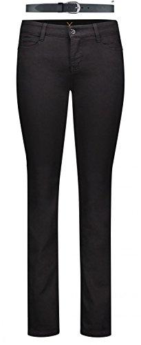 Mac Dream Damen Jeans Hose 0355l540190, Farbe:D999 Black Black...