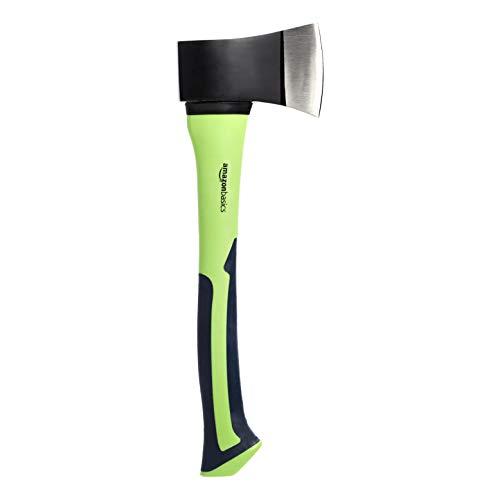 Lama in acciaio al carbonio con impugnatura in fibra di vetro Dimensioni: 37,8 x 12,4 x 2,54 cm Verde e nero Presa ergonomica Facile da usare ed efficiente Design robusto e resistente alla ruggine