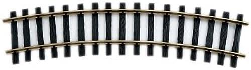 Zenner Bausatz 16 Gebogene Gleise Spur 2(64mm) R=1200mm, 22,5° + Schraubverbinder