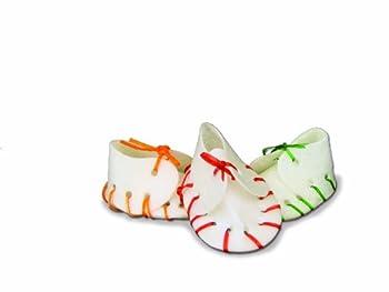 Nobby Mixcolor Friandise à Mâcher en Forme Chaussure pour Chien 55 g 7 cm 5 Pièces - Lot de 5