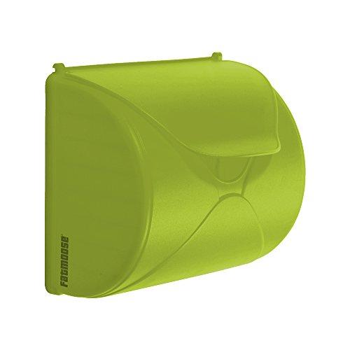 FATMOOSE Briefkasten SecretBox für Kinder Spiel-Briefkasten Kinderpost, 250x226x136mm (BxHxT), apfelgrün