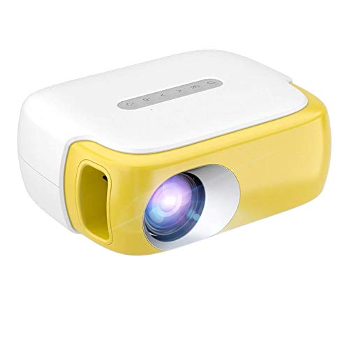 TIANYOU Projektor Hd Projector 3500Lumen Multiscreen Wifi Mini Projetor Home Cinema 3D Smartphone Für 1080P Video Beamer Für Home Entertainment Große Kapazität und großer Bildschirm