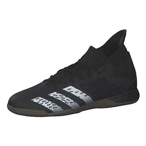 adidas Predator Freak .3 IN, Zapatillas de fútbol Hombre, NEGBÁS/FTWBLA/GUM5, 42 EU