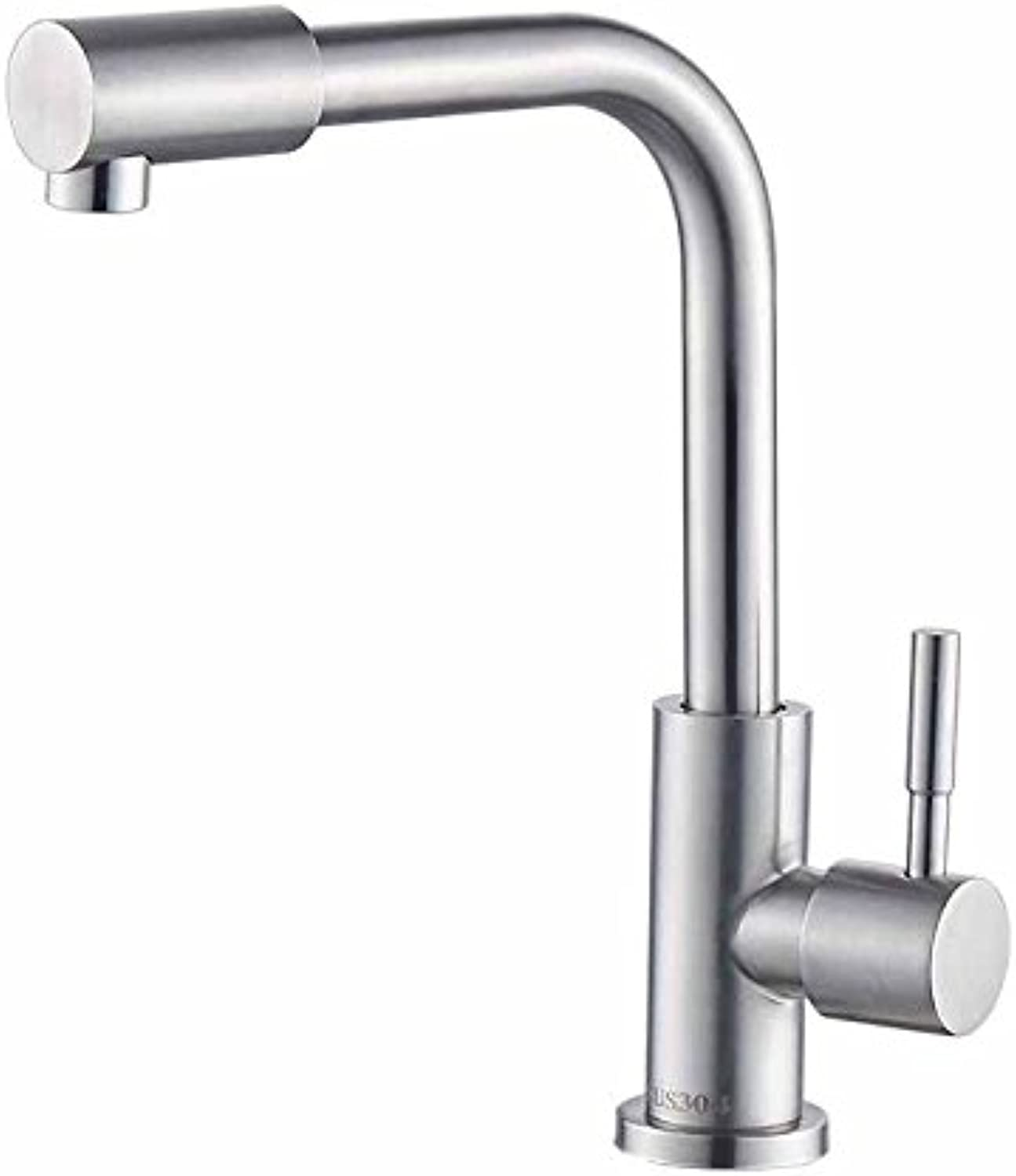 MulFaucet Faucet Water tap Taps Swivel Hoses Kitchen hot and Cold Copper redatable Household Single Handle Single Hole H