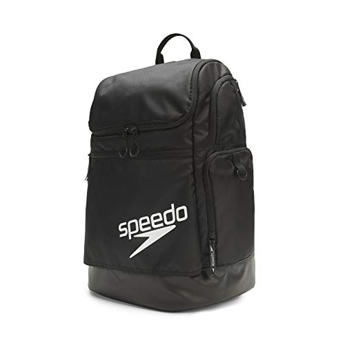 Speedo Large Teamster Backpack 35-Liter, Zaino Unisex-Adulto, Nero 2.0, Taglia Unica