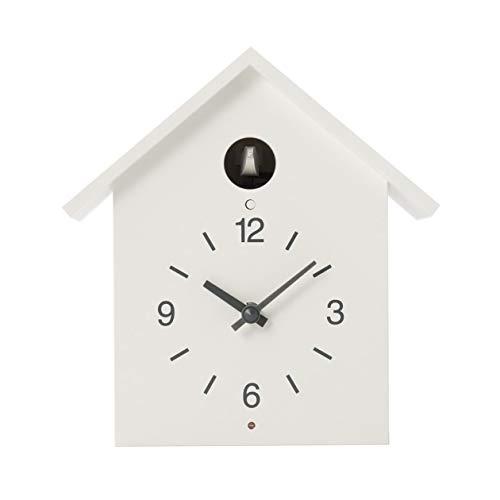 無印良品 鳩時計・大 掛置時計・ホワイト 幅255×奥行125×高さ267mm 15832606