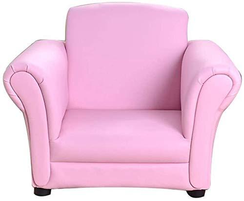 Mini sillón, asiento de sofá individual, taburete de lectura para niños,Pink