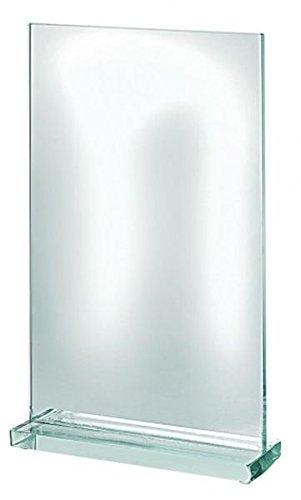 Trofeo de Cristal Rectangular cod.EL35100 cm 4x11x16,7h by Varotto & Co.