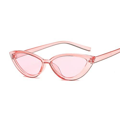UKKD Gafas De Sol Mujer Ojo Gafas De Sol Mujer Meliz Mirror Pequeño Marco Gafas De Sol Gafas De Sol
