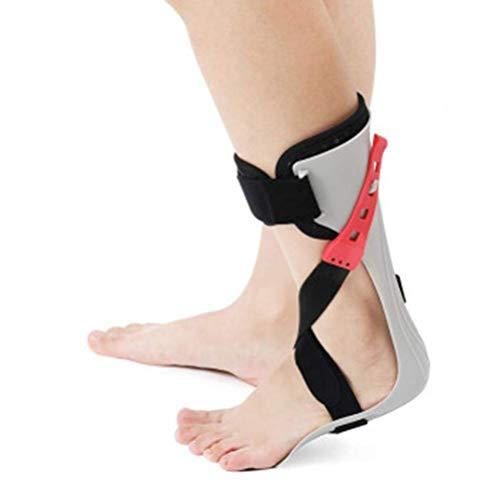 Soporte de órtesis de Tobillo y pie, órtesis de pie caído AFO Brace, Zapatos de corrección de varo del pie, Ayuda para la rehabilitación de hemiplejía por accidente cerebrovascular