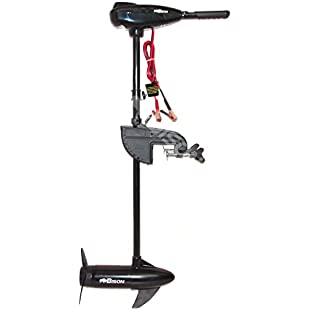 BISON 68ft/lb ELECTRIC OUTBOARD TROLLING MOTOR WITH FREE SPARE PROPELLER