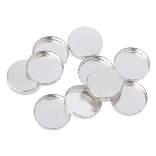 MB-LANHUA 10 Pièces Palettes de Maquillage vides Palette de fards à paupières Poudre Pans Pot Pot Storage Responsive to Magnets 2#