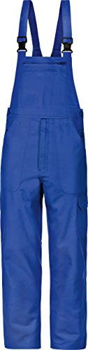 Cargo-Arbeitslatzhose Latzhose Basic Baumwolle 250g/m² kornblau (48)