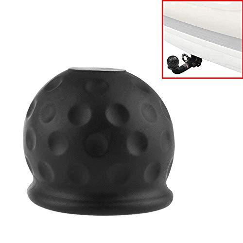 Anhängerkupplung Schutzkappe für Kugelkopfkupplungen,Europäischer Auto 7-Loch Stecker Anhänger Adapter,Passend zum Standard 50mm Towball,Witterungsbeständig und Waschanlagen Fest