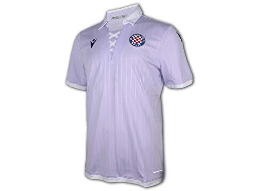 Macron Hajduk Split Ausweichtrikot 20 21 Flieder Hajduk Third Shirt Fan Jersey, Größe:XL