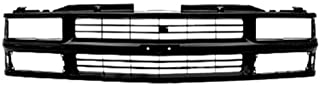New Grille Grill Front End Black for Chevy C/K Pickup Truck Suburban Tahoe Blazer