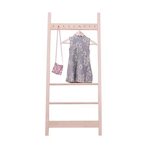 BaoYPP Perchero para ropa, perchero para ropa y ropa de niños, ideal para colgar en el armario y resolver tu problema de ropa (color: color, tamaño: 160 x 40 cm)