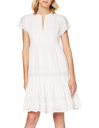 Derhy Damen ACHARDS Kleid, Weiß (Blanc 2), 38