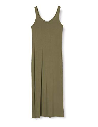 PIECES Pckalli Maxi Tank Dress Noos Vestido Informal para Mujer