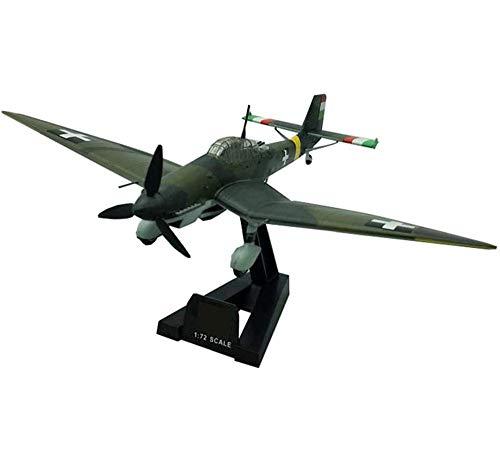 CMO Aeromodelismo, Bombardero JU97D Stuka JG plastico Modelo De Escala 1/72, Juguetes y Regalos para Adultos, 8.3 X6.3 Pulgadas