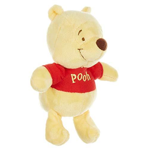 Disney Baby Winnie The Pooh Stuffed Animal Plush Toy Mini Jingler, 5 inches
