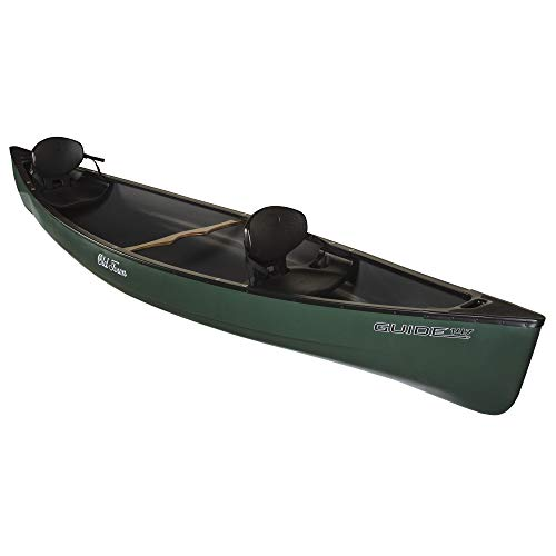 Old Town Canoes & Kayaks Guide 147 Recreational Canoe, Green, 14 Feet 7 Inches