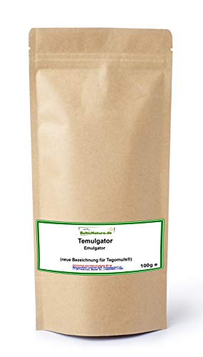 Temulgator (neue Bezeichnung für Tegomuls ®) Emulgator pflanzlich (100 g)