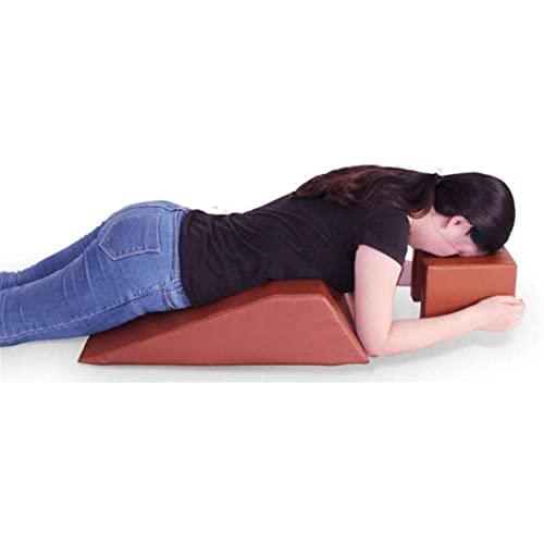 GPWDSN Cojín de cuña para cama quirúrgico, almohadilla lateral lateral, multifunción, almohadilla de rotación de hombros cóncavo, cojín de triángulo para espalda, piernas, soporte para el vientre