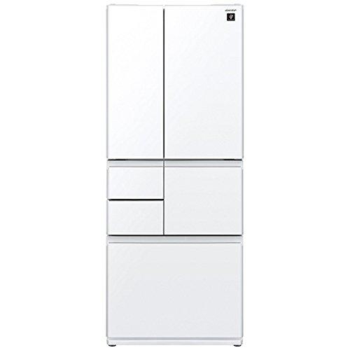 シャープ 冷蔵庫 メガフリーザー プラズマクラスター搭載 505Lタイプ ピュアホワイト SJGT51C-W