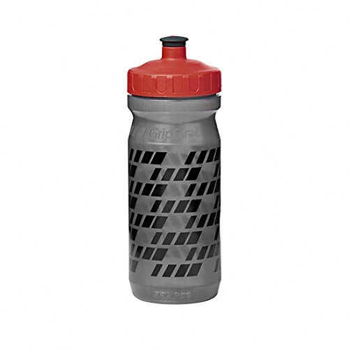 GripGrab Bidón de Ciclismo Botella de Agua para Bicicleta sin BPA Plástico Degradable, 600 ml y 800 ml 6 Colores, Adultos Unisex, Rojo, Talla única