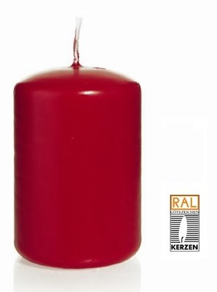 Rouge Bougie Cylindre 60 x 30 mm, 40 pcs Bougies, de Belle qualité