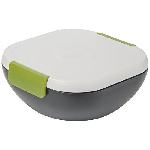 """Trudeau Maison Fuel """"Salat to go"""" Salatbehälter mit Kühlaggregat und Dressingfach, 1,18 l"""