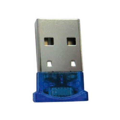 Aquip Mini-USB/Bluetooth dongle Tarjeta y Adaptador de Interfaz - Accesorio (USB, Negro, 3 Mbit/s, IVT BlueSoleil V2.3.0, 40 m, Inalámbrico)