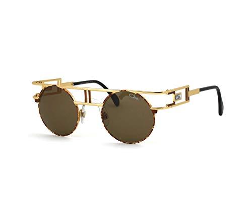 Cazal sonnenbrille 958 033 gold-braun-größe 46-mm-unisex