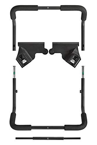 Baby Jogger City Mini 2, GT2 y City Elite 2 Adaptador de asiento de coche para silla de paseo individual | Chicco KeyFit2 Asientos de coche infantiles