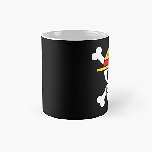 Monkey D Luffy Pirate King Classic Mug A - Novelty Ceramic Cups Inspirational Holiday Gifts For Men & Women, Him Or Her, Mom, Dad, Sister, Brother, Coworkers, Bestie.