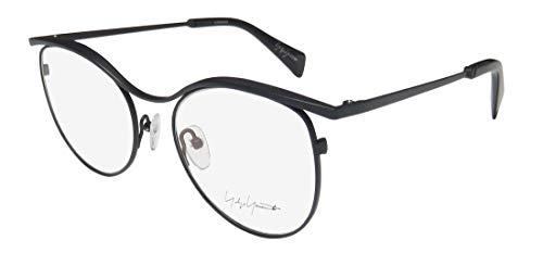 Yohji Yamamoto 3014-601 Women's Navy Frame Demo Lens Eyeglasses