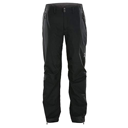 Preisvergleich Produktbild Haglöfs Regenhose Frauen Regenhose Vandra Wasserdicht,  Winddicht,  Atmungsaktiv True Black XL XL