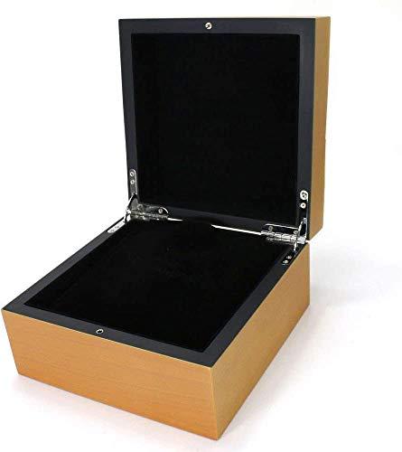 ROUHO Caja De Reloj Caja De Reloj De Madera Caqui Caja De Reloj para Officine Panerai