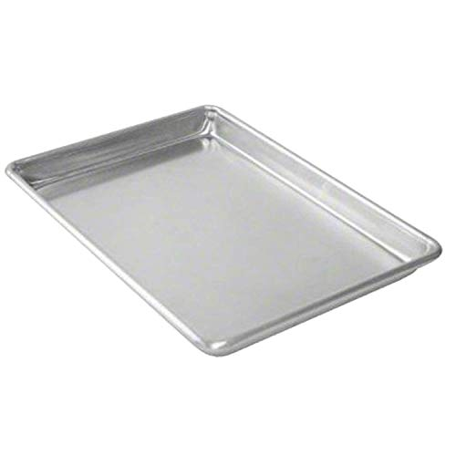 Aluminum Sheet Pan (Set of 12), Baking Pans, Full Size Commercial Baker 1 Dozen 18 x 26 Inches
