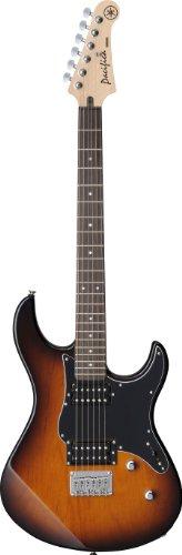 Yamaha Pacifica PAC120H TBS Solid-Body Electric Guitar, Tobacco Sunburst,medium Alaska