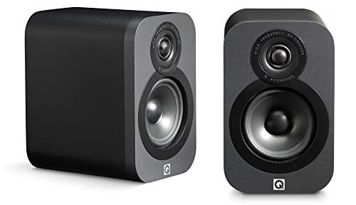 Q Acoustics 3010 Compact Bookshelf Speakers (Pair) (Graphite)