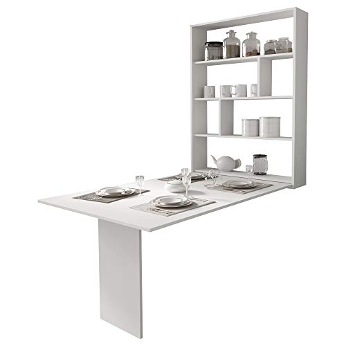 Selsey Espigo - Tavolo allungabile - per la sala da pranzo - 130x80 cm – bianco