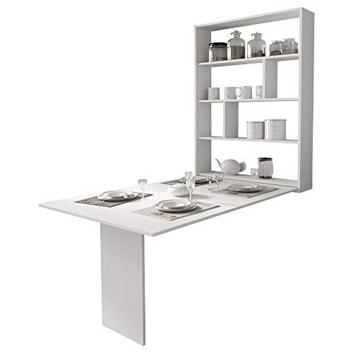 Selsey Espigo - Mesa Extensible - 130x80 cm - Blanco - Moderno